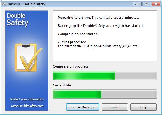 doublesafety backup gratuit