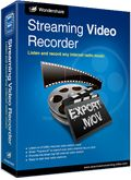 Wondershare Streaming Video Recorder