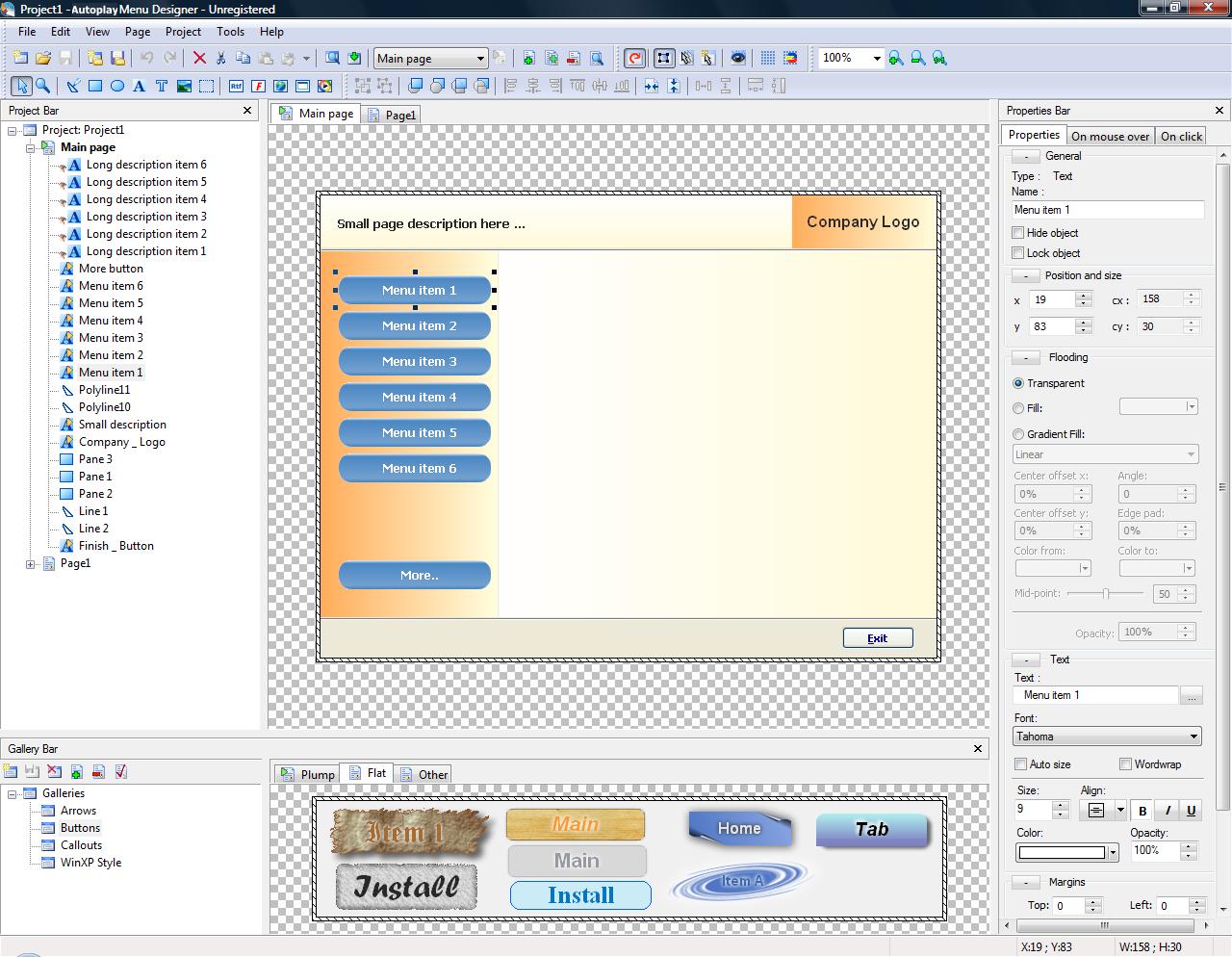 Autoplay+menu+designer