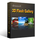 Aneesoft 3D Flash Gallery 2.0 Giveaway