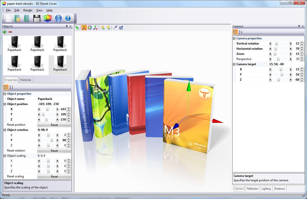 3d ebook cover mac