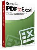 AnyBizSoft PDF to Excel Converter Giveaway
