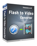 ThunderSoft Flash to Video Converter