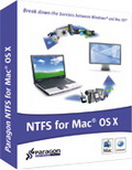 Paragon NTFS for Mac OS X 8.0 Special Edition