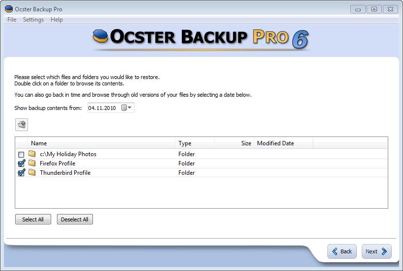 ocster backup pro 8 serial
