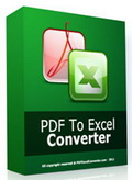 PDF to Excel Converter 3.0 Giveaway