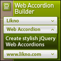 Likno Web Accordion Builder 2.0 Giveaway