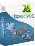 Hopedot VOS allows you to take your familiar PC environment to any PC anywhere without compromising the data security policy.