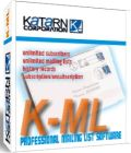 K-ML is an easy-to-use mailing list/ newsletter manager.