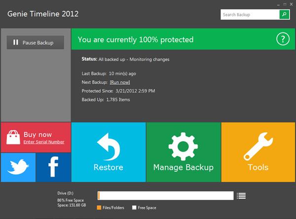 Dashboard - Genie Timeline Professional 2012 (24 Saat Kampanya)