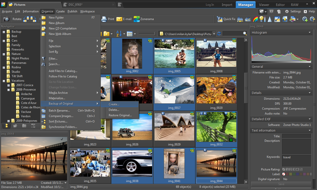 Giveaway of the day free licensed software daily — zoner photo.