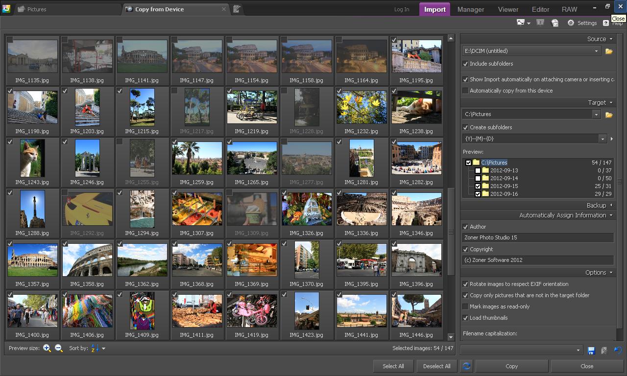 Скачать бесплатно программу zoner photo studio