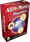 AllMyNotes Organizer Deluxe Portable 2.77 Giveaway