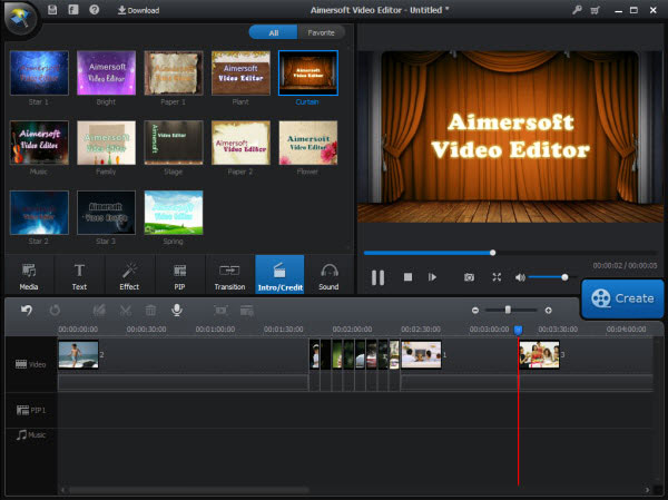 visual effect video editing software