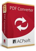 ACPSoft PDF Converter 2.0 Giveaway