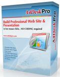 A4DeskPro Website Builder 7.10 Giveaway