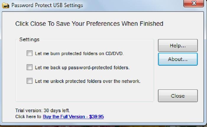 Password Protect Usb 3.6.1 - фото 11